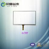 4.3 Baugruppen-Touch Screen LCD-Bildschirm des Zoll-480X272 der Auflösung-kundengerechter TFT LCD mit Fingerspitzentablett