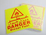警告の安全柱のための赤くおよび白いAnti-Collision反射テープ