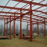 Estructura de estructura de acero prefabricada para el edificio del taller