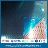 Strato decorativo a strati formato fossette su dell'acciaio inossidabile acquaforte di Baosteel 1.0mm