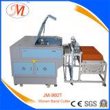 Máquina de estaca profissional do laser para a estaca tecida da faixa (JM-960T-WB)