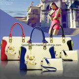 Borsa promozionale delle donne del sacchetto delle signore del cuoio della borsa del cuoio genuino di tendenza di modo