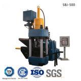 Briquetters 기계를 재생하는 자동적인 알루미늄 철 금속 작은 조각 수압기-- (SBJ-500)