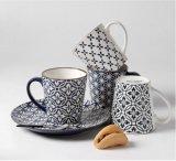 Tazza di caffè su ordinazione di ceramica dipinta a mano all'ingrosso