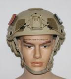 기체 Kelvar 방탄 헬멧 Nij Iiia 9mm 탄도 헬멧