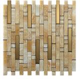 Естественная малая плитка мозаики шифера прокладки для украшения стены (FYSM061)