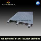 Tablón del aluminio del andamio del edificio de la construcción de la alta calidad