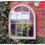 Зеркало стены формы Bridcage сбор винограда & зеркало окна