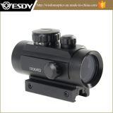 Taktischer roter grüner PUNKT 1X30 Anblick-Bereich With10mm -20mm