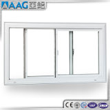 Guichet de glissement bon marché d'aluminium de double vitrage de Metel du plus défunt modèle