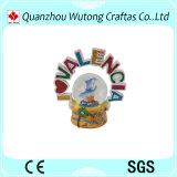 Глобус воды смолаы сувениров глобуса снежка письма смолаы нового прибытия изготовленный на заказ
