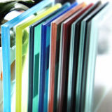 명확하고/회색/청동/백색 장식적인 안전 건축 박판으로 만들어진 유리