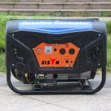Gerador de potência pequeno portátil de confiança do biogás do gerador 5.5HP da gasolina do bisonte (China) BS2500g 2kw 2kVA