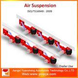 Kits de la suspensión del aire del acoplado del semi-remolque del brazo de la guía de la alta calidad