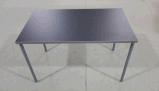 現代流行の4つのシートのチェアーテーブルの食堂の家具