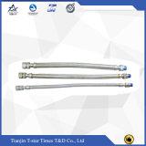 Mangueira trançada do metal da flange das extremidades reparadas e frouxas de Ss304/316/316L