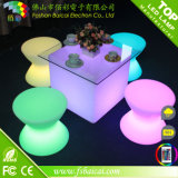 현대 아크릴 디자이너 LED 가벼운 의자