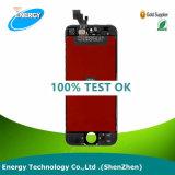 熱い販売! ! ! iPhone 5 LCDのタッチ画面の計数化装置のiPhone 5のための中国の製造者の携帯電話LCD、