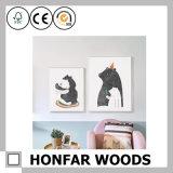 Украшение картинной рамки искусствоа стены шаржа младенца деревянное