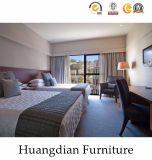 간단한 나무로 되는 호텔 Bedromm 가구 세트 (HD017)