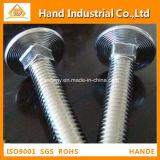 Befestigungsteil DIN603 verriegelt quadratische Stutzen-Schrauben