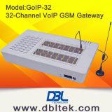 Gateway portuário de 32 GoIP G/M para a terminação livre do atendimento