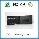 Брошюра экрана LCD 4.3 дюймов видео- для выдвиженческого подарка