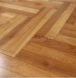 La raspa de arenque multiplica el suelo/la madera dura de madera dirigidos nuez dura que suelan color amarillo