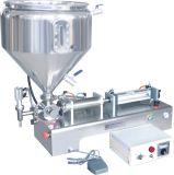 Horizontale einzelne Hauptpasten-Einfüllstutzen-Füllmaschine mit mischendem Becken