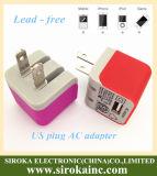 Carregador de CA e adaptador de viagem Micro USB Wall AC