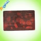 Cmyk 4/4 Plastik-Belüftung-Karte des Farben-Drucken-0.76mm