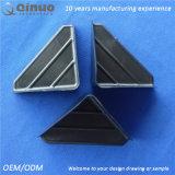 protetores de canto plásticos dos lados de um preto três de 120 milímetros para a mobília