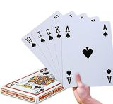 Talla enorme Playingcards