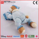 A alta qualidade encheu o urso do sono do brinquedo do bebê