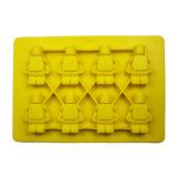 El molde material de la torta del silicón de la categoría alimenticia del certificado del FDA, robusteza formó el molde de la torta del silicón