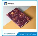 Impressão do catálogo do Hardcover da alta qualidade