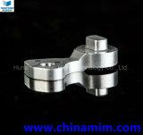 Pezzi di ricambio dello stampaggio ad iniezione del metallo per l'anello dell'ugello (forcella)