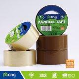 Cinta adhesiva del embalaje de Brown BOPP del certificado del SGS para el lacre del cartón
