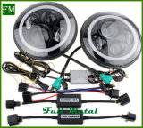 Lámpara frontal Auto Parts 45W LED 4D para Jeep Wrangler JK