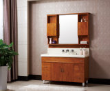 Floor-Mountedカシ木衛生製品の浴室の虚栄心のキャビネット