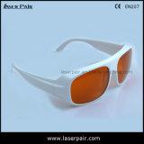 2 linha óculos de proteção dos vidros de segurança do laser de YAG e de Ktp/proteção (GTY 200-540nm & 900-1100nm) com Frame52