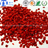 Masterbatch vermelho com ABS/Pet/PP/PE granula Masterbatch plástico \ cor Masterbatch com baixo preço