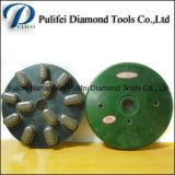 Колесо мраморный поверхностного диаманта смолаы этапа металла отделкой каменное полируя