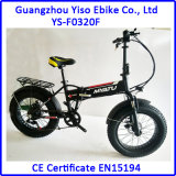 36V elektrisches Fahrrad fettes E fettes Fahrrad mit Xofo Motor-schwanzlosem Motor faltend