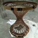 A cadeira feita sob encomenda dos pés da tabela da mobília do aço inoxidável parte a fábrica