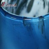 De nieuwe moderne Ovale Schemerlamp van de Schaduw van de Stof van het Lichaam van het Glas