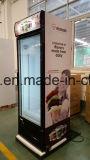 Cer-Bescheinigung-einzelne Glastür-aufrechte Bildschirmanzeige-Gefriermaschine