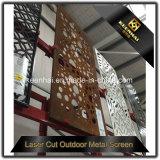 Comitati di alluminio delle reti fisse e dei cancelli del giardino del taglio decorativo del laser di prezzi all'ingrosso