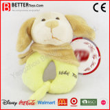 Peluches en peluche Animal Dog Toy Soft Baby Rattle