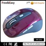 光沢のある表面の光学2.4Gラップトップの無線電信マウスを買いなさい